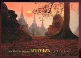 CPM Neuve Thailande Wat Phra Sri Sanphet AYUTTHAYA - Thailand