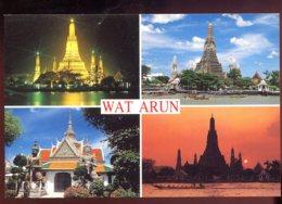 CPM Neuve Thailande BANGKOK Wat Arun Multi Vues - Thailand