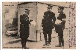 Général Joffre & Général De Castelnau - édit Imprimeries Réunies De Nancy - Guerre 1914-18