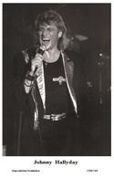 JOHNNY HALLYDAY - French Singer PHOTO POSTCARD - 1506/184 Swiftsure Postcard Edition Year 2000 - Artistes