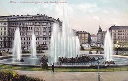 AK Wien - Schwarzenbergplatz Mit Leuchtbrunnen  (50502) - Other