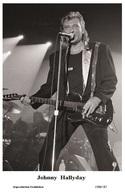 JOHNNY HALLYDAY - French Singer PHOTO POSTCARD - 1506/187 Swiftsure Postcard Edition Year 2000 - Artistes
