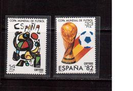 Spain-1982,(Mi.2532-2533),Football, Soccer, Fussball,calcio,MNH - Copa Mundial