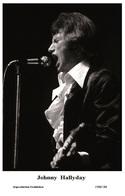 JOHNNY HALLYDAY - French Singer PHOTO POSTCARD - 1506/188 Swiftsure Postcard Edition Year 2000 - Artistes