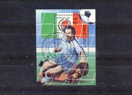 LAOS - SOCCER CHAMPIONSHIP - ITALIA 1990. -  MI.NO.BL 106 - CV - 3 € - Copa Mundial