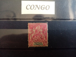 CONGO.1892. N° 22. Type SAGE .Oblitéré . Côte Yvert 42 € - Usados