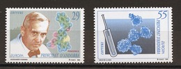 Andorre Espagnol - Andorra 1994 Y&T N°227 à 228 - Michel N°237 à 238 *** - EUROPA - Andorra Española