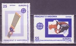 Andorre Espagnol - Andorra 1991 Y&T N°211 à 212 - Michel N°221 à 222 * - EUROPA - Andorra Española