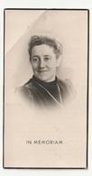 Bidprentje Hendrica B.A.  AKKERMANS Echtg. Cornelis J. L. Van Veen Rotterdam 1893 Aldaar Overleden 1949 - Imágenes Religiosas