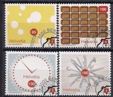 YT N° 2001 à 2004 - Oblitéré - La Suisse Vue Par...... - Oblitérés
