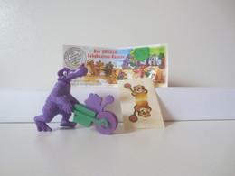 Kinder Surprise Deutch 1997 : N° 611158 + BPZ + Stickers - Mountables