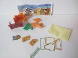Kinder Surprise Deutch 1997 : N° 611.077 + BPZ + Stickers - Steckfiguren