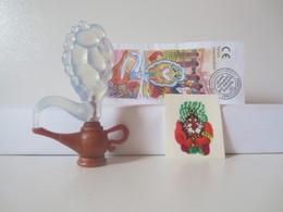 Kinder Surprise Deutch 1997 : N° 614238 + BPZ + Stickers - Mountables