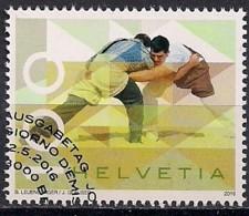 YT N° 2369 - Oblitéré - Fête De Lutte Suisse - Oblitérés