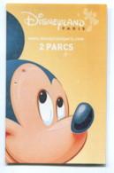 Tickets D'entrée : Disneyland Paris - 2 Parcs - Tickets D'entrée