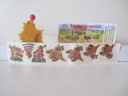 Kinder Surprise Deutch 1997 : N° 615161 + BPZ + Stickers - Mountables