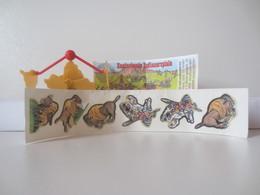 Kinder Surprise Deutch 1997 : N° 614912 + BPZ + Stickers - Mountables