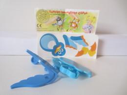 Kinder Surprise Deutch 1997 : N° 612510 + BPZ + Stickers - Steckfiguren