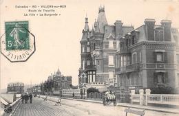 """VILLERS SUR MER - Route De Trouville - La Villa """"La Burgonde"""" - Villers Sur Mer"""