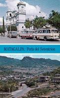 1 AK Nikaragua * Ansichten Der Stadt Matagalpa - Die Kathedrale Und Eine Luftbildaufnahme * - Nicaragua