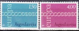 Yougoslavie 1301 à 1302 ** Europa - Ungebraucht