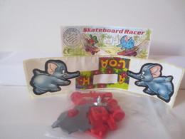 Kinder Surprise Deutch 1997 : N° 618942 + BPZ + Stickers - Mountables