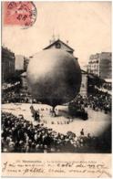75 PARIS  MONTMARTRE - Le 14 Juillet Sur La Place Jules Joffrin - Ballon Sphérique - Frankrijk