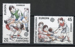 Andorre Espagnol - Andorra 1989 Y&T N°199 à 200 - Michel N°209 à 210 *** - EUROPA - Andorra Española