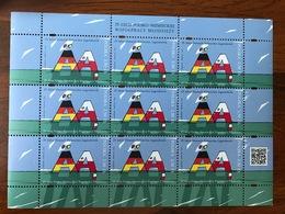 Poland 2016. Polish-German Youth Cooperation. Mi 4839. Mini Sheet MNH** - Blocks & Sheetlets & Panes