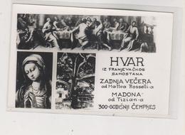 CROATIA HVAR Nice Postcard - Croatia