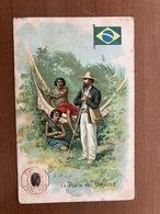 LA POSTA NEL BRASILE  LYSOFORM  ACHILLE BRIOSCHI & C. MILANO   FARM,ACIA  MEDICINALE - Postal Services