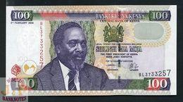 KENYA 100 SHILLINGS 2004 PICK 42 UNC - Kenia