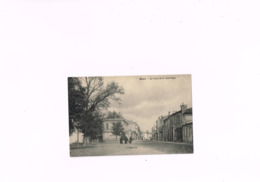 Blaye Le Cours De La République, A.Baron édit,carte Postale Ancienne 1910-1920. - France