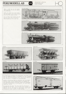 Catalogue PERL MODELL AB 1986 Messingmodelle HO - En Allemand, Anglais Et Suédois - Boeken En Tijdschriften