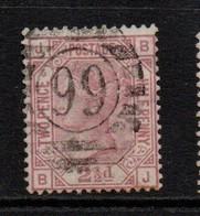 GB Victoria Surface Printed 2 1/2d Rosy Mauve Plate 6 Fine Used - 1840-1901 (Victoria)