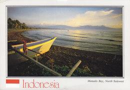 Indonisia PPC Manado Bay, North Sulawesi TOMOHON 1990 ADLISWIL Switzerland Amorphophallus Titanum Pflanze Plant - Indonesia