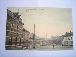 CPA - BAUDOUR ( SAINT GHISLAIN MONS BORINAGE ) - LA GRAND PLACE - 1920 - Saint-Ghislain