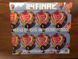 Poland 2016. Great Orchestra Of Christmas Charity. Mi 4812. MNH** - Blocks & Sheetlets & Panes