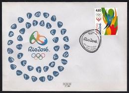 Croatia Zagreb 2016 / Olympic Games Rio De Janeiro / Pictograms / Archery Rowing Basketball Wrestling Tennis Handball - Eté 2016: Rio De Janeiro