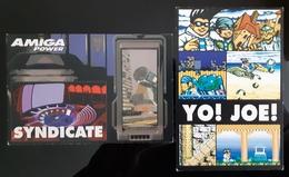 AMIGA Power Pc Game Lot De 2 Carte Postale - Pubblicitari