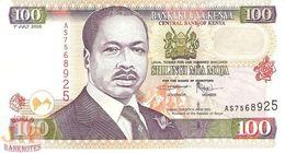 KENYA 100 SHILLINGS 2000 PICK 37e UNC - Kenia