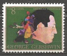 1973 8 Cents Gershwin Mint Never Hinged - Unused Stamps