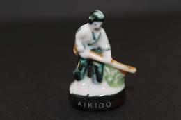 Fève De La Série ARTS MARTIAUX - Aikido - Nordia 1995 - (Réf. 011) - Deportes
