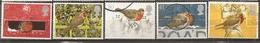 Grande-Bretagne Great Britain 1995 Noel Oiseaux Christmas Robins Set Complete Obl - 1952-.... (Elizabeth II)