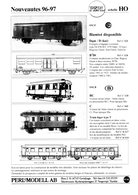 Catalogue PERL MODELL AB 1996-97 Nouveutés HO SNCF SNCB CFL - Boeken En Tijdschriften