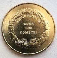Monnaie De Paris 75.Paris - Palais Cambon Cour Des Comptes Bicentenaire 2007 - Monnaie De Paris