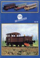 Catalogue PERL MODELL AB 1982-83 Sweden Nyheter HO 1/87 Neuheiten - En Suédois, Allemand Et Anglais - Boeken En Tijdschriften