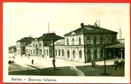 Bielsko: Dworzec Koljowy (gare - Station) - Poland