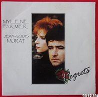 Mylène Farmer, Regrets SP 45 - Vinyl Records