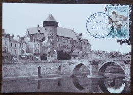 CM 1962 - YT N°1330 - LAVAL - Cartes-Maximum